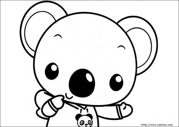 Koala  47 (animales) – Páginas Para Colorear