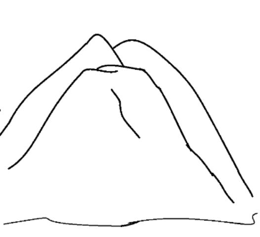 Montaña  16 (naturaleza) – Páginas Para Colorear
