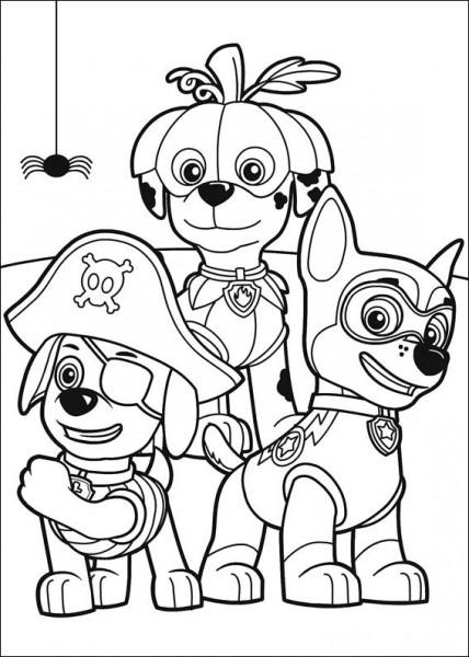 Paw Patrol  69 (dibujos Animados) – Páginas Para Colorear