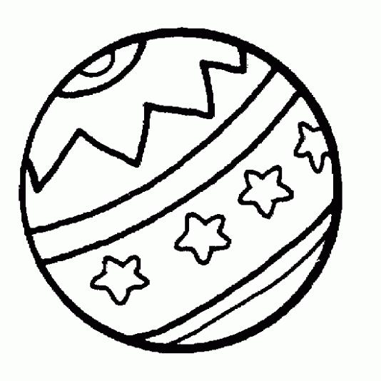 Pelota De Playa  27 (objetos) – Páginas Para Colorear