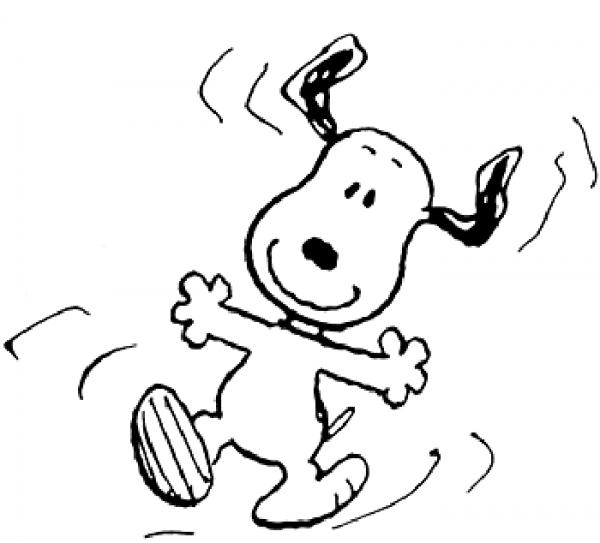 Snoopy  3 (dibujos Animados) – Páginas Para Colorear