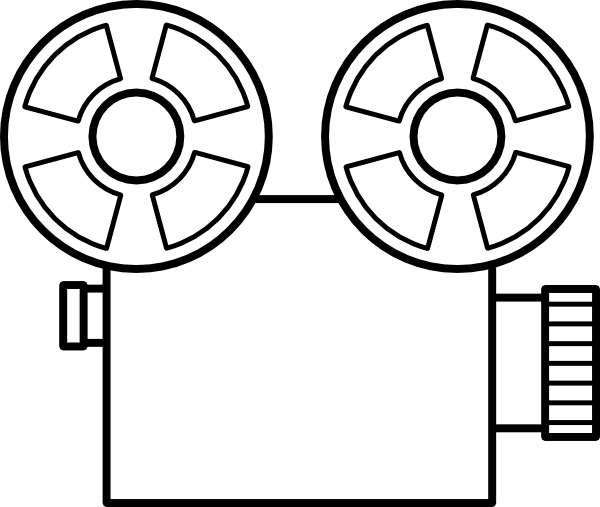 Video Camera  10 (objects) – Printable Coloring Pages