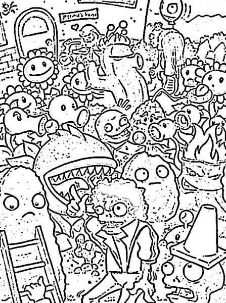 Zombie  63 (characters) – Printable Coloring Pages