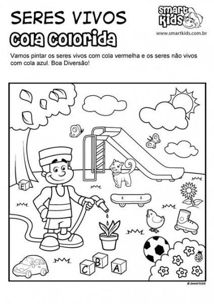 Imagenes De Seres No Vivos O Inertes Para Colorear