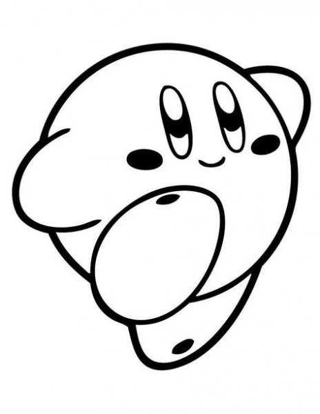 Dibujos Para Colorear Kirby En 2019
