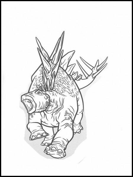 Dibujos Para Colorear  Dibujos Para Imprimir Y Pintar Jurassic