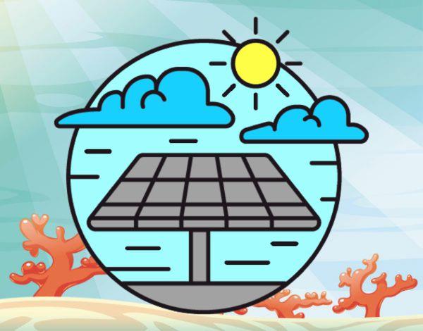Imagenes De Paneles Solares Para Colorear