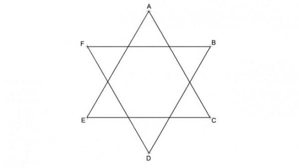 Cómo Dibujar Una Estrella De 6 Puntas Simple O Doble Fácilmente