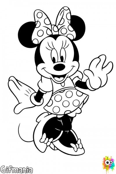 Coloring Minnie Mouse Dress!  Minnie  Minniemouse  Disney