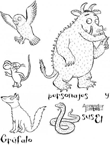 El Grufalo Y Sus Personajes