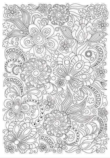 Dibujos Patrones Para Colorear Para Adultos