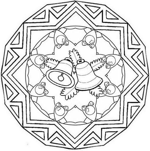 Parroquia La Inmaculada  Recursos Adviento Y Navidad  13 Mandalas