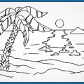 Dibujos Paisajes Infantiles Para Colorear