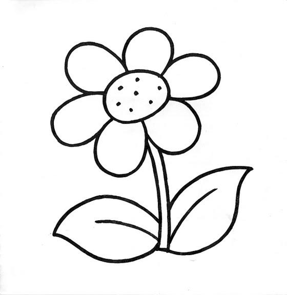 ▷ Flores Para Dibujar, Colorear, Imprimir Y Tutoriales Para Decorar