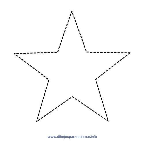 Estrella 6 Puntas Trazo