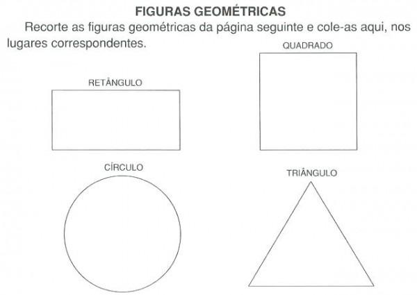 Figuras Geometricas Basicas Para Colorear