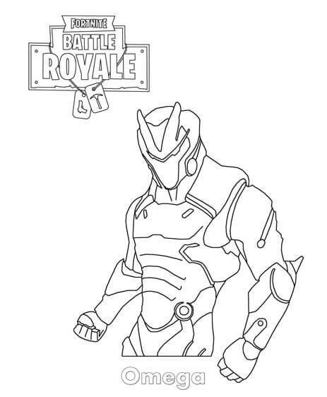 Dibujos De Fortnite Para Colorear