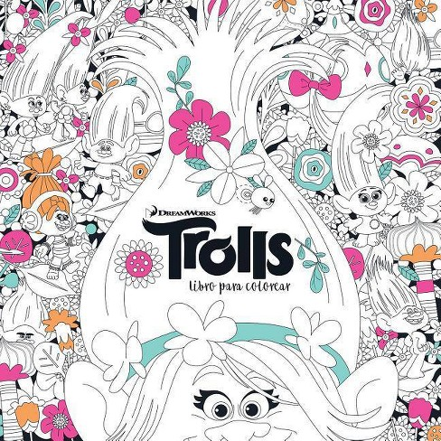Trolls  Libro Para Colorear   Trolls  It's Color Time! (dreamworks