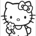 Imprimir Dibujos De Hello Kitty Para Colorear