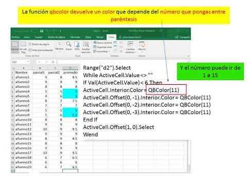 Excel Macros Colorear Celdas Segun Criterio