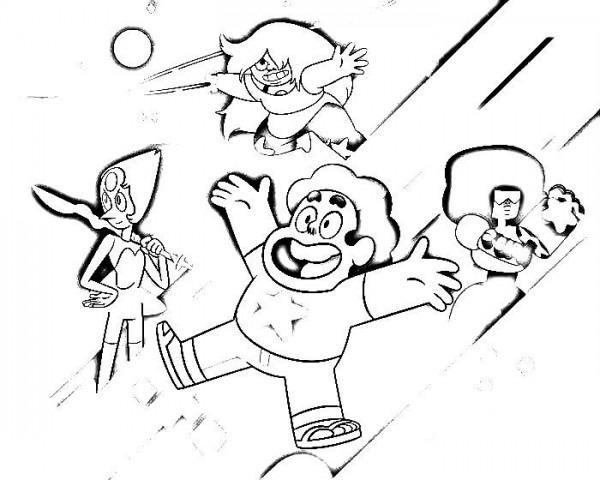 Steven Universe Para Colorear E Imprimir
