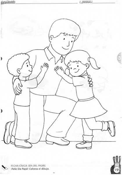 Imagenes De Diferentes Familias Para Colorear