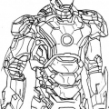 Iron Man 3 Para Colorear