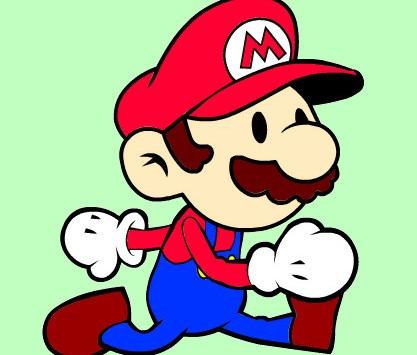 Juego De Colorear Con Mario