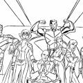Juegos De Colorear A Superheroes