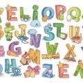 Letras Rotulos Para Colorear