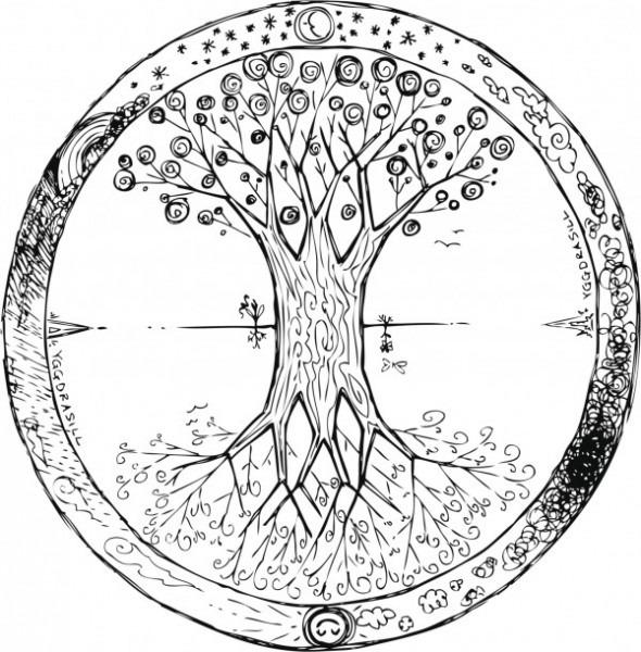 Los Mejores Dibujos De Mandalas De árboles Para Pintar