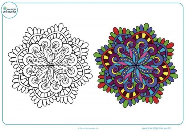 Dibujos De Mandalas Para Colorear Niños【2019】