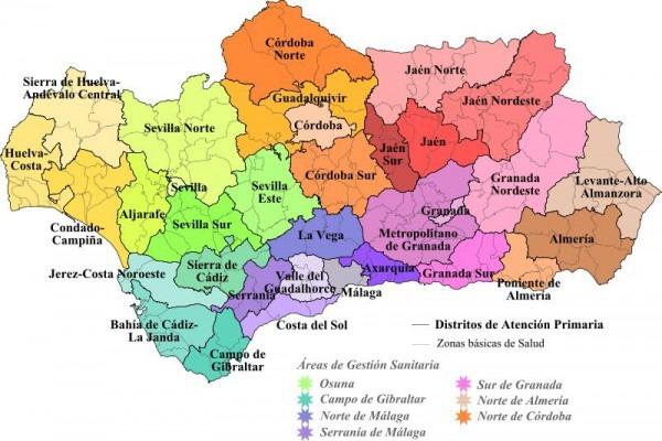 Mapas De Andalucia Para Imprimir