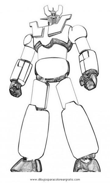 Dibujo Mazinga_40 En La Categoria Dibujos_animados Diseños