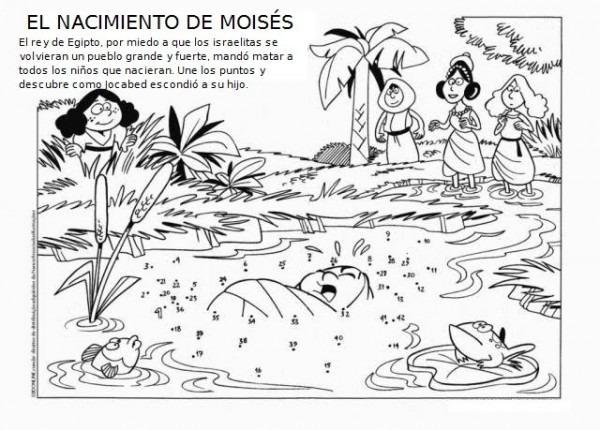 Historia BÍblica De MoisÉs Para Colorear