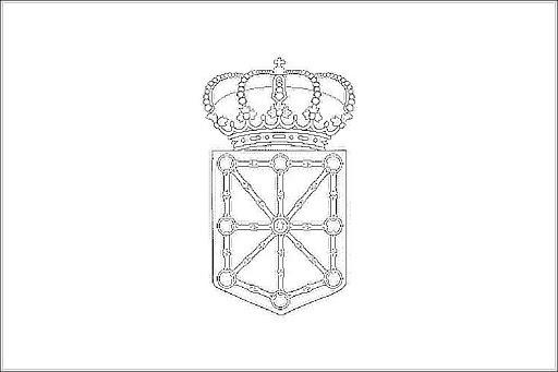 Bandera De Navarra Para Colorear