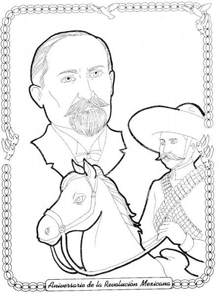 √ Pinto Dibujos  Revolucin Mexicana 20 De Noviembre Para