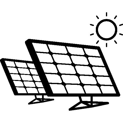 Panel Solar Para Colorear
