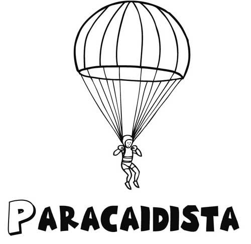 Imagenes Del Parapente Para Colorear