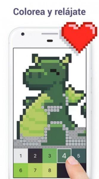 Pixel Art  Colorear Por Números 4 6