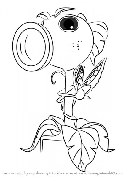 Plants Vs Zombies 2 Coloring Pages At Getdrawings Com