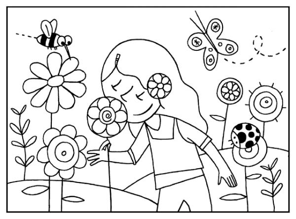 √ Ropa Primavera Para Colorear