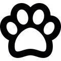 Patitas De Perro Para Colorear