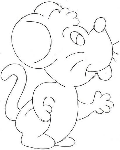 Dibujos Para Colorear Sobre El Raton Perez