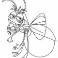 Dibujo De Luciernaga Para Colorear