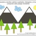 Paisajes Geometricos Para Colorear