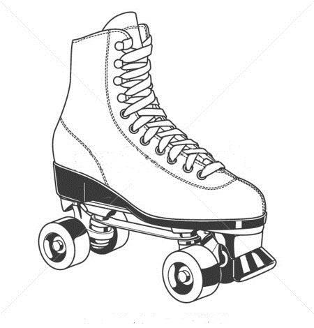 Roller Skate Drawing At Getdrawings Com