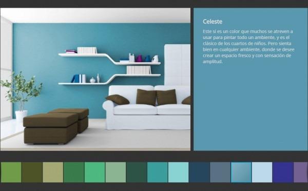 Simuladores De Ambientes Y Colores Online   Pintomicasa Com