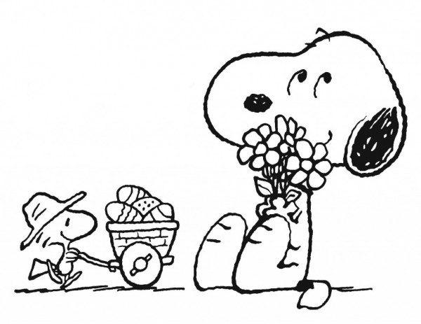 Imágenes De Snoopy Para Imprimir Y Colorear