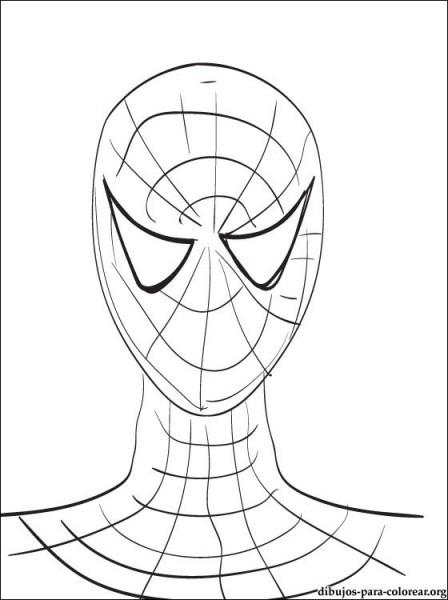 Juegos Dibujo De Spiderman Para Pintar